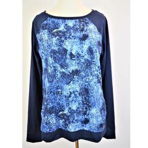 UNDER ARMOUR All Season Gear Blue Knit Shirt XL 16